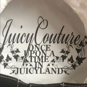 13022817 Juicy Couture Accessories - Juicy Couture Black Newsboy Hat Cap